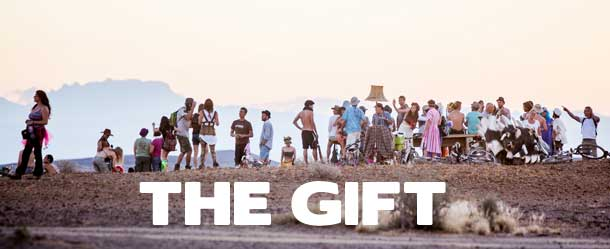 Visual Representation of the AfrikaBurn 2015 theme - The Gift